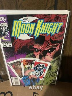 Nearly Complete Run Marc Spector Moon Knight Copper Age Marvel Comics