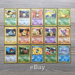 Neo Genesis 1st Edition Near Complete Set (109/111) Pokemon Cards 2000 Rare Mint