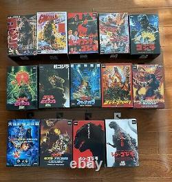 New Godzilla Neca collection lot Near Complete