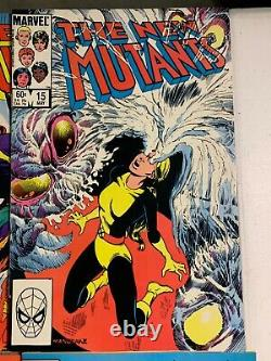 New Mutants # 1-100 near complete missing 3 issues