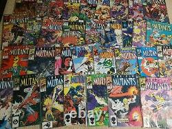 New Mutants Near Complete Run! All BAGGED! Huge collection! Marvel