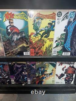 Nightwing Near Complete Set #1-141/NM DC Comic Run Newsstand Run
