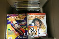 Nintendo Power Collection 345 Issues Near Complete #2-284 many MINT with posters