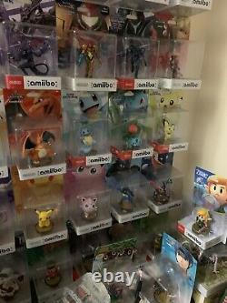 Nintendo Super Smash Bros Amiibo Nearly Complete Collection 65 Amiibo Coll