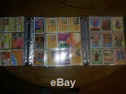 Original Garbage Pail Kids Cards Series 1-15 Near Complete
