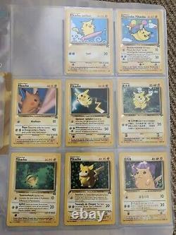 POKEMON Pikachu World Collection Card Promo Binder Super Rare Near Complete