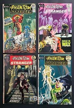 Phantom Stranger #1-41 (DC 5-6/69) Mid-Grade near complete lot of 37 1-owner