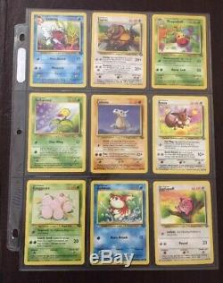 Pokemon 100% Complete Jungle Set 64/64 Near Mint Original Holo Collection