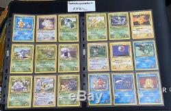 Pokemon 1st Edition Gym Challange Near Complete Set Near Mint Condition PSA