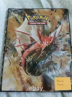 Pokemon Breakpoint Near Complete Set in official pokemon binder mint