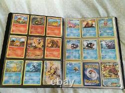 Pokemon Breakpoint Near Complete Set in official pokemon binder mint/NM