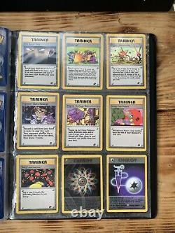 Pokemon Card Team Rocket 100% Complete Set Near Mint Gradable 83/82 Charizard