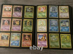 Pokemon Cards Complete Base Set 102/102 Charizard 4/102 WOTC NEAR MINT/LP