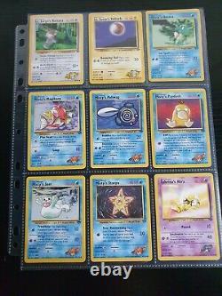 Pokémon Cards Complete Common/Uncommon Gym Challenge Set Near Mint Mint