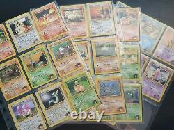 Pokémon Cards Complete Common/Uncommon Gym Heroes Set Near Mint Mint