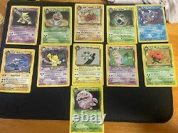 Pokemon Cards Complete Set Team Rocket Near mint 83/82 Collection x1 1st edition