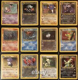 Pokemon Collection Complete All Neo Set Near Mint/Mint (Holo/Shining PSA Worth)