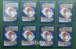 Pokemon Complete Base Set 102/102 Card Set WOTC Near Mint Charizard Etc
