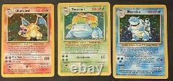Pokémon Complete Base Set 102 Original Card Set Near Mint Charizard Blastoise