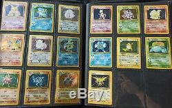 Pokemon Complete Base Set 102 Original Card Set Near Mint Charizard Etc