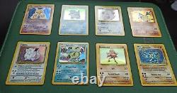 Pokémon Complete Base Set 102 Original Card Set Near Mint Charizard Etc