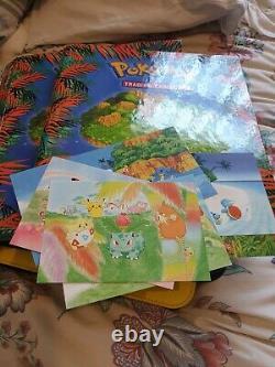 Pokemon Complete Near Mint Southern Islands Set 18/18 + Postcards RARE