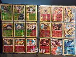 Pokemon Complete Steam Siege Master Set Near Mint / Mint Condition W Binder