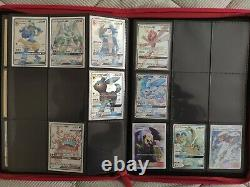 Pokemon HIDDEN FATES Near complete Master SET sealed promo card