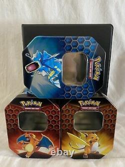 Pokemon Hidden Fates Complete Master Set 69/68 +Promos Near Mint +Folder +3 Tins