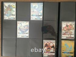 Pokemon Hidden Fates near complete master set Shiny Vault + full arts NM/Mint