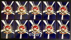 Pokémon Japanese 1998 Vending Machine Series Near Complete 55/125 Near Mint