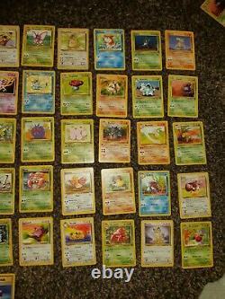 Pokemon Jungle Cards WOTC near complete set holo Rare jolteon flareon