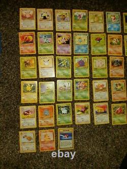 Pokemon Jungle Cards WOTC near complete set holo Rare jolteon flareon vaporeon