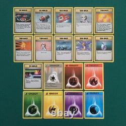 Pokemon Near Complete Base Set 90/102 With 5 Holo Cards 1999 WOTC Vintage Rare