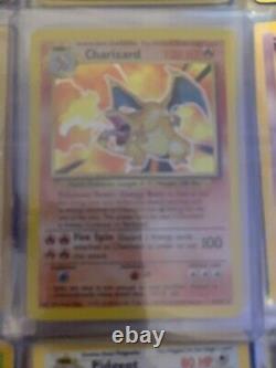 Pokémon Near Complete Collection Base Set Charizard, Jungle, Fossil Team Rocket