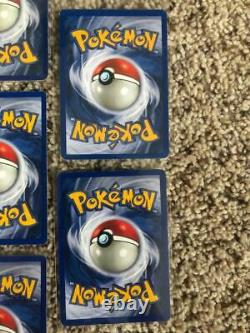 Pokemon Near Complete Unlimited Base Set HOLO Collection 14/16 Blastoise +