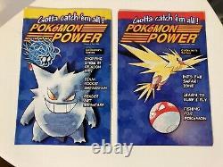 Pokemon Power Magazine Comic Complete Full Set WOTC card Ash Pikachu Near Mint