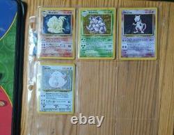 Pokemon TCG WOTC 1999 Vintage Base Set Part Complete 97/102 Played Near Mint