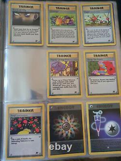Pokemon Team Rocket! WOTC 1999 Near complete set Holo and Non Holo NM/M Exc