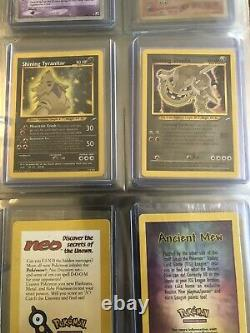 Pokemon card collection Near Complete Sets Vintage Holo