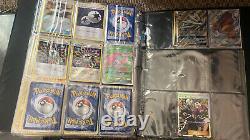Pokemon card collection master set complete set near complete set vintage new
