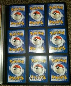 Pokemon card near Complete Fossil Set only 2 missing 1999 16x 1st editions