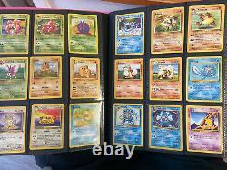 Pokemon complete base set EXTRA Complete Pokedex 1-151 Charizard NEAR MINT/MINT