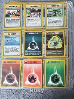 Pokemon neo genesis near complete C/U/R set