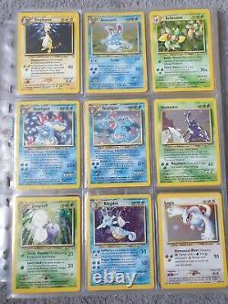 Pokemon neo genesis near complete set