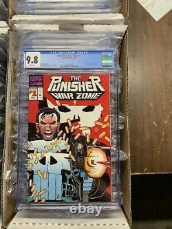 Punisher 1-104 war zone journal 1-41 1-80 all cgc 9.8 near complete