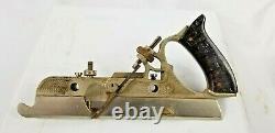 RECORD No 405 MULTI PLANE NEAR COMPLETE SOME RUST With ORIGINAL BOX 21 CUTTERS +