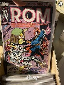 ROM SPACEKNIGHT Marvel Comics Lot Comic Series Near Complete Run ROM Annual 1-4