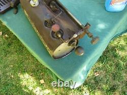 Rare Vintage Coleman Gas Heat Stove (Nearly Complete)