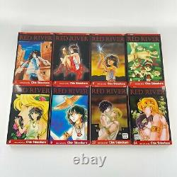 Red River Near Complete Serie Set Manga Book Lot Vol 1-3 7-9 12 14 21-28 English